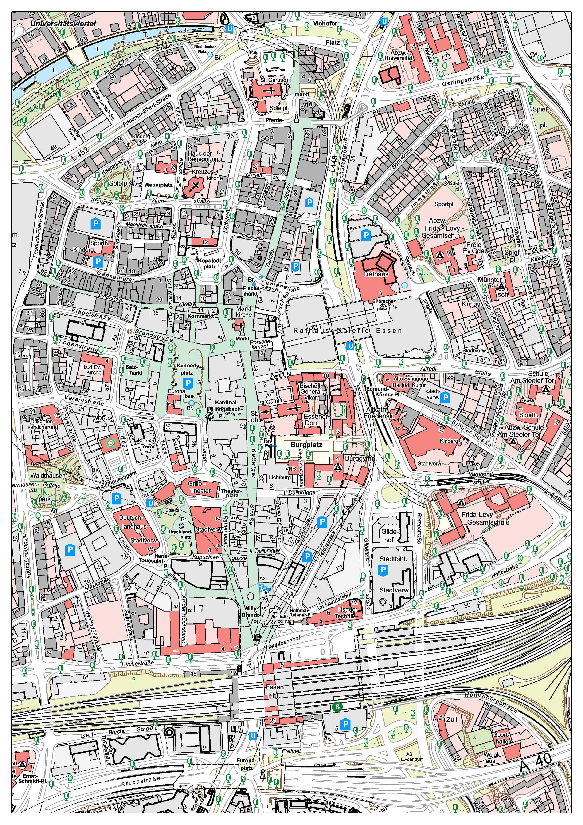 Stadt Essen, Amt für Geoinformation, Vermessung und Kataster